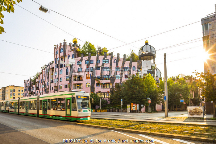 Grune Zitadelle (by Hundertwasser), Magdeburg, Saxony-Anhalt, Germany
