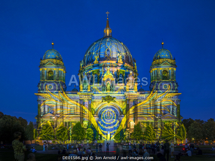 Festival of Lights, Berliner Dom, Berlin, Germany