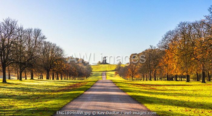 awl-images.com - England / Copper Horse Statue of King George III, Windsor Great Park, Windsor, Berkshire, United Kingdom
