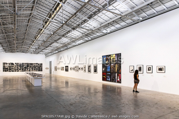 awl-images.com - Spain / Spain, Comunidad Valenciana, Valencia, One of the halls of the Bomba Gens Art Centre.