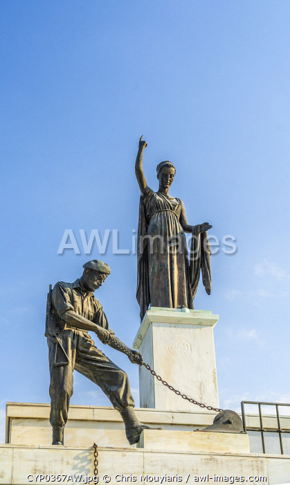 awl-images.com - Cyprus / The Liberty Monument or Eleftheria Monument, Nicosia, Cyprus