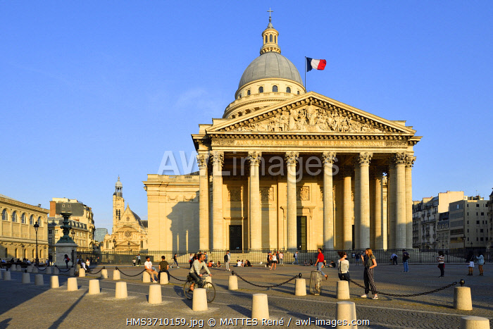 awl-images.com - France / France, Paris, Latin Quarter, Pantheon (1790)