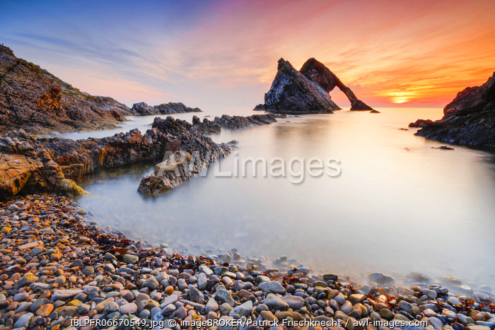 awl-images.com - Scotland / Bow Fiddle Rock, Scotland, Great Britain