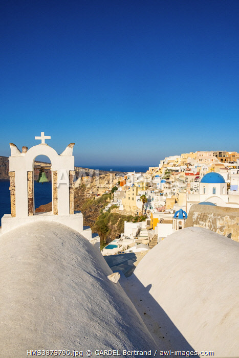 awl-images.com - Greece / Greece, Cyclades, Santorini Island (Thera or Thira), village of Oia