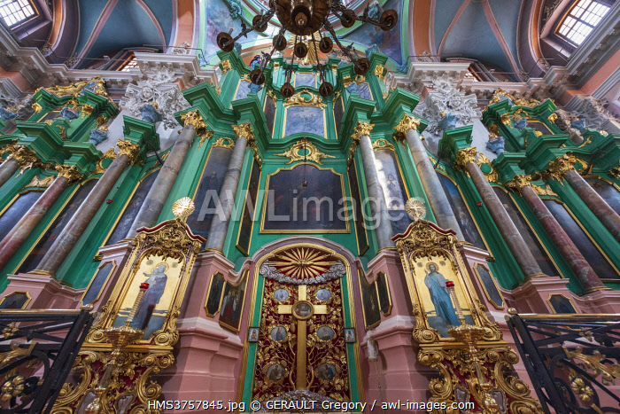 awl-images.com - Lithuania / Lithuania, (Baltic States), Vilnius, historic centre, listed as World Heritage by UNESCO, Saint Esprit Orthodox church