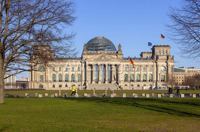 awl-images.com - Germany / The Reichstag was constructed in 1894 and is today home of the German Parliament, the Bundestag, Berlin, Germany