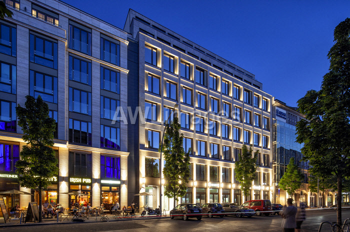 awl-images.com - Germany / New office building in Zimmerstrasse near Checkpoint Charlie, Berlin, Germany