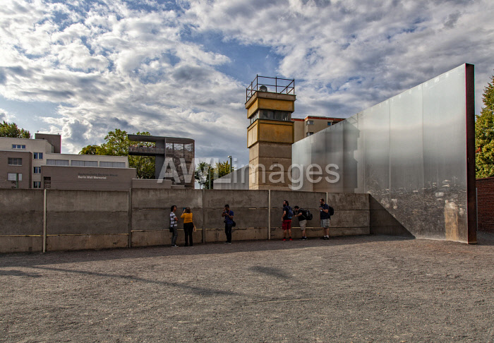 awl-images.com - Germany / The Berlin Wall Memorial in Bernauer Strasse with the former death strip, Berlin, Germany